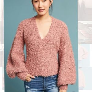 Anthropologie Mauve Sweater